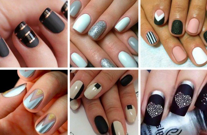 Модный цвет ногтей на короткие ногти (79 фото)